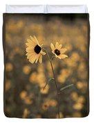 Sunflower In The Wild Duvet Cover