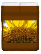 Sunflower Macro Duvet Cover