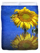 Sunflower Reflection Duvet Cover