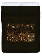 Sunflower Seedling Growth Sequence Duvet Cover