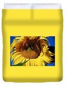 Sunflower Up Close Duvet Cover