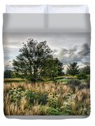 Sunflowers In Bloom Duvet Cover