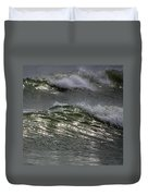 Sunlight And Waves 1 Duvet Cover