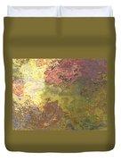 Sunlit Bricks Abstract Duvet Cover