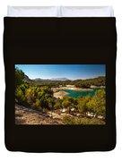 Sunny Day In El Chorro. Spain Duvet Cover