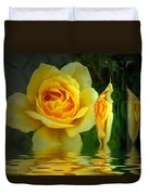 Sunny Delight And Vase 2 Duvet Cover