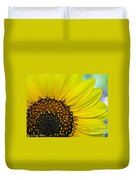Sunny Summer Sunflower Duvet Cover