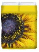 Sunny Yellow Duvet Cover
