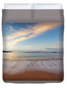 Sunrise At Cove Park Duvet Cover