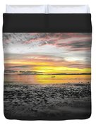 Sunrise At Sea 2 Duvet Cover