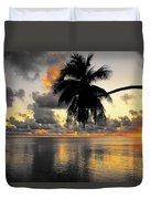 Sunrise At Sea 3 Duvet Cover