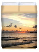 Sunrise At Sea 4 Duvet Cover