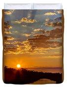 Sunrise Bayou Duvet Cover
