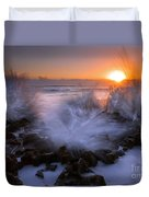 Sunrise Explosion Duvet Cover