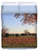 Sunrise In The Graveyard Duvet Cover
