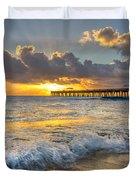Sunrise Lights Duvet Cover