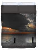 Sunrise On Key Islamorada Duvet Cover