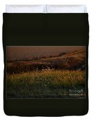 Sunrise On Wild Grasses II Duvet Cover