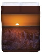 Sunrise Over The Pampa Of Argentina San Duvet Cover