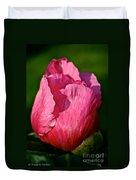 Sunrise Pink Duvet Cover