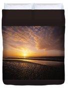 Sunrise, Sandymount Strand Dun Duvet Cover