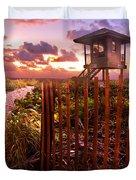 Sunrise Sentinel Duvet Cover