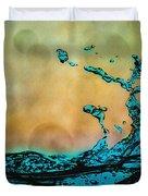 Sunrise Splash Duvet Cover