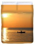 Sunrise Sport Fishing Duvet Cover