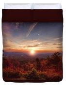 Sunrise-talimena Scenic Drive Arkansas Duvet Cover by Douglas Barnard