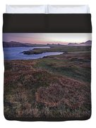Sunrise View Of Clogher Beach Duvet Cover