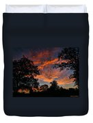 Sunset 07 26 12 Two Duvet Cover