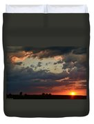 Sunset After The Thunderstorm Duvet Cover
