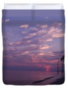 Sunset At Fountianbleu State Park Duvet Cover