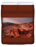 Sunset At Liitle Finland Duvet Cover
