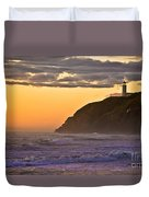 Sunset At North Head II Duvet Cover