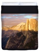Sunset At The Dome Duvet Cover