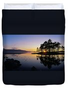 Sunset At The Lake, Kenmare, Ring Of Duvet Cover