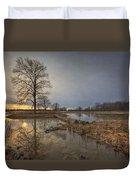 Sunset At Timber Banks Duvet Cover