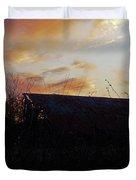 Sunset Barn1 Duvet Cover