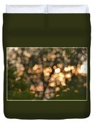Sunset Bokeh  Duvet Cover