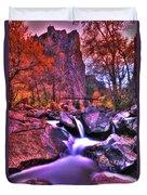 Sunset Canyon Duvet Cover