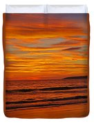 Sunset Colours Duvet Cover