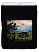 Sunset Cruisin' Duvet Cover