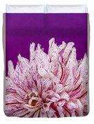 Sunset Dahlia 1 Duvet Cover
