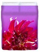 Sunset Dahlia 2 Duvet Cover