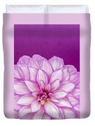 Sunset Dahlia 3 Duvet Cover