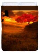 Sunset Duet Duvet Cover