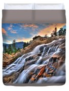Sunset Falls Landing Duvet Cover