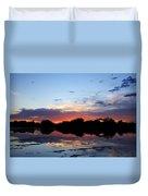 Sunset Glow Duvet Cover