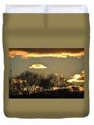 Sunset Gold Duvet Cover